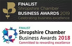 Shropshire Chamber of Commerce Business Awards – Best small business finalist