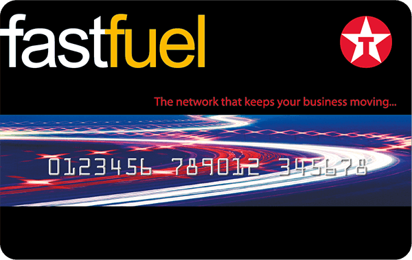 Texaco fastfuel fuel card