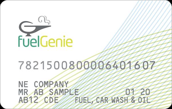 fuelGenie taxi fuel card