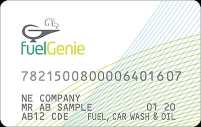 fuelGenie petrol card