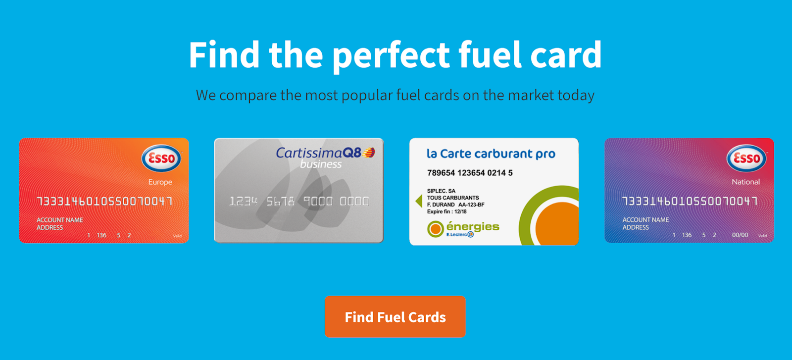 Find the perfect petrol card for your business with iCompario
