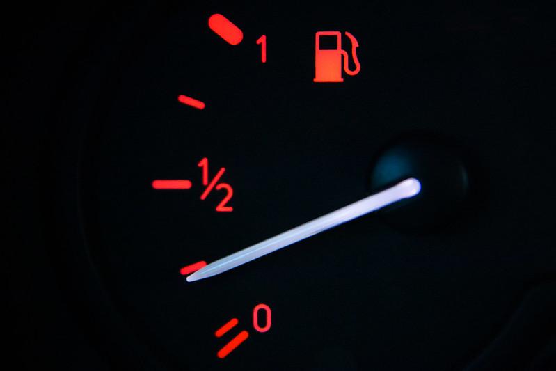 A Fuel Gauge Indicator