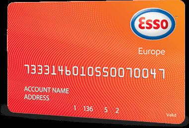 Esso Europe fuel card