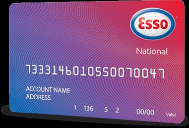 Esso National fuel card