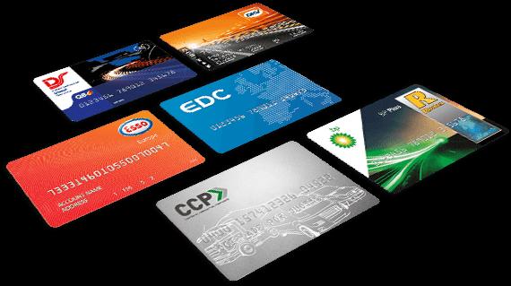 Pesquise cartões de combustível