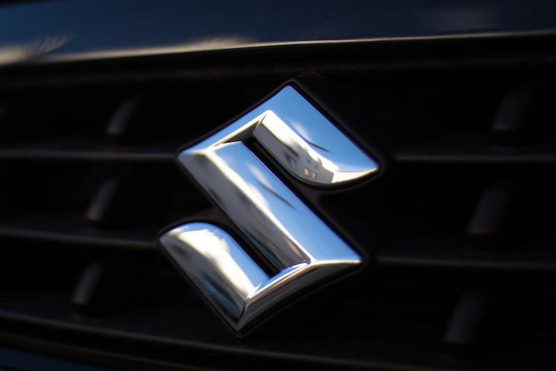 A Suzuki logo for a vehicle you could picked up on the used market