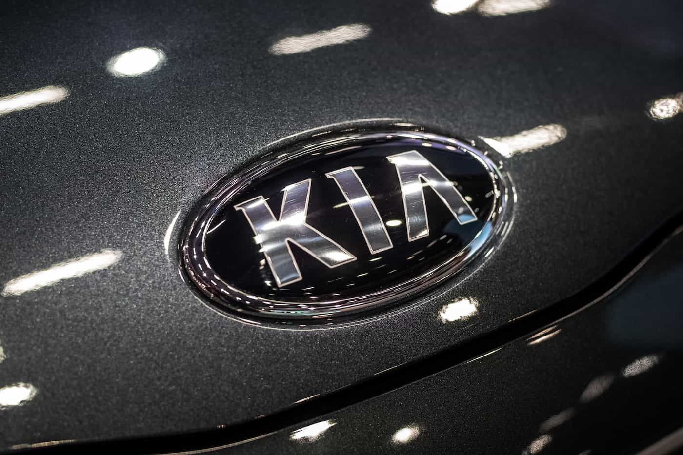 A Kia logo