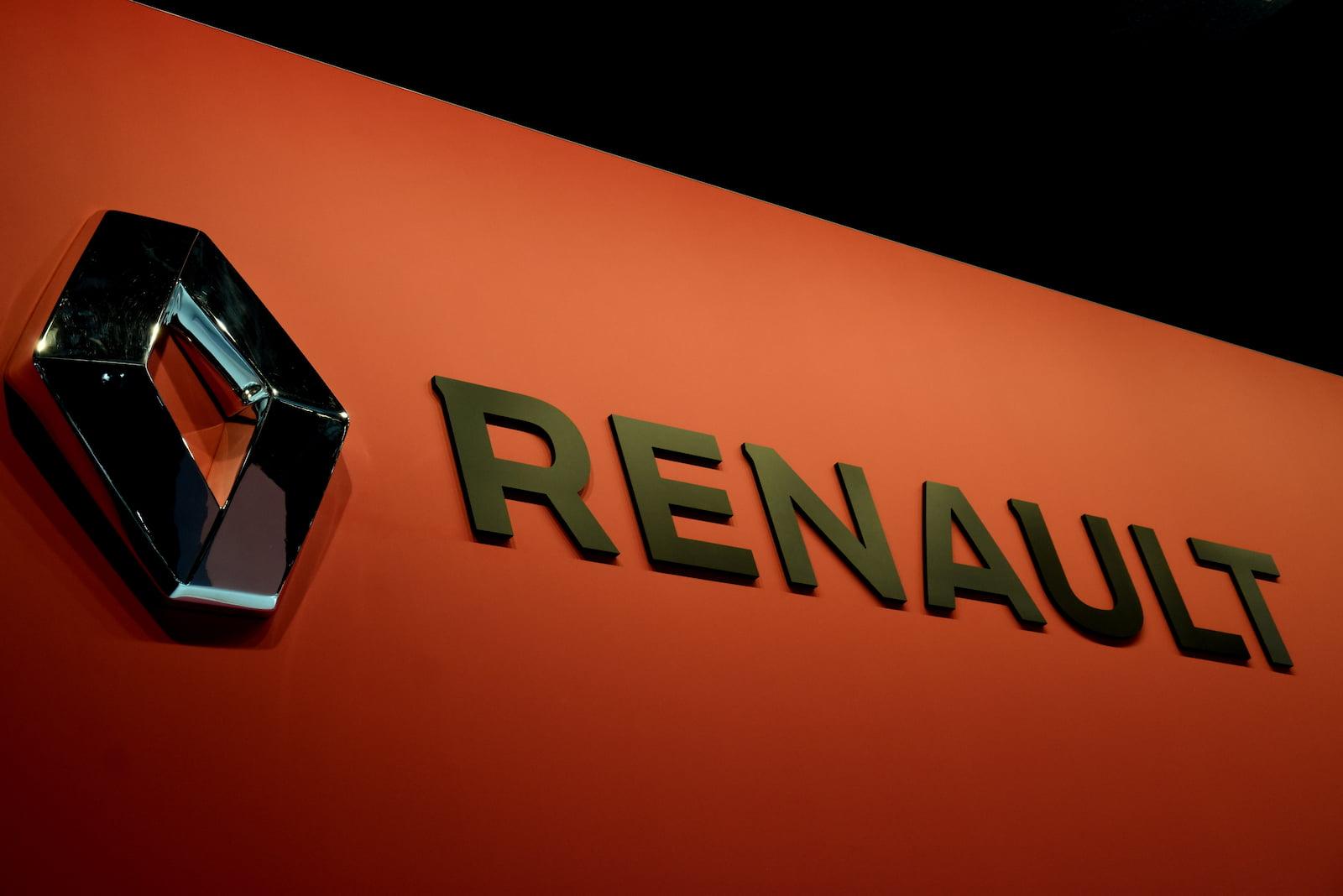 A Renault logo