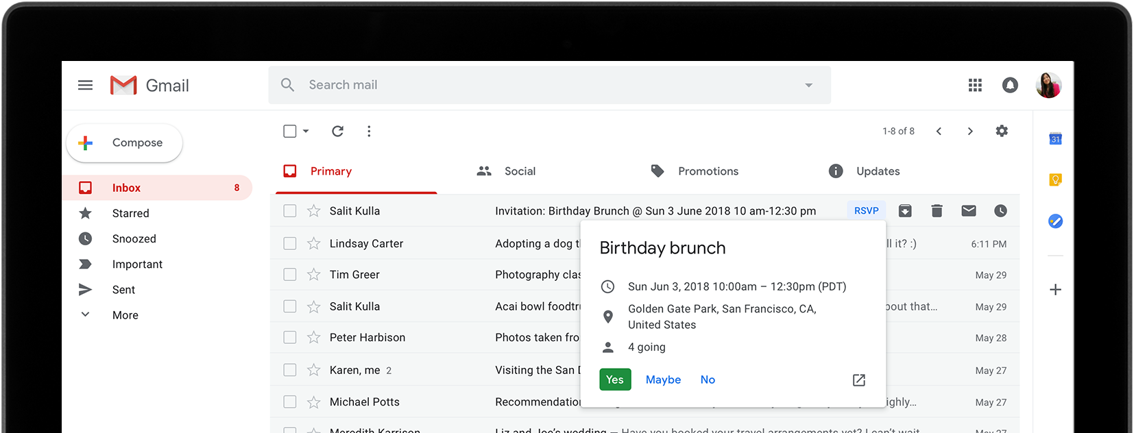 People are liking gmail fresh new look