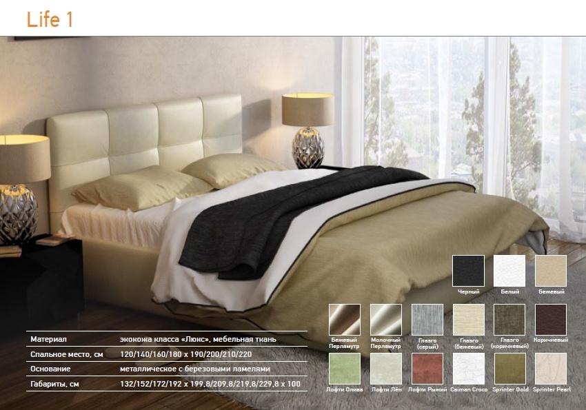 Кровать life box 1