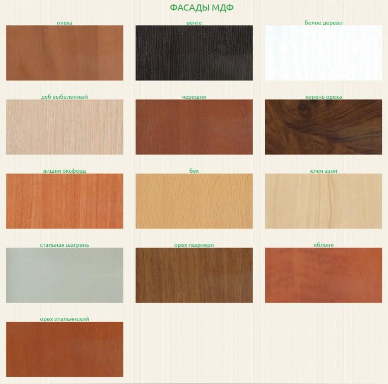 Возможные цветовые решения фасадов