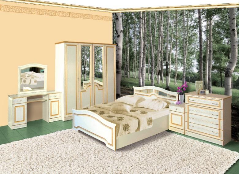 Спальня София с патиной