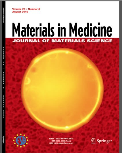 Multimodal embolization particle with tantalum core and fluorescence.  For editorial article see: http://static.springer.com/sgw/documents/1521148/application/pdf/JMSM+August+Editorial+HTownley+FINAL.pdf