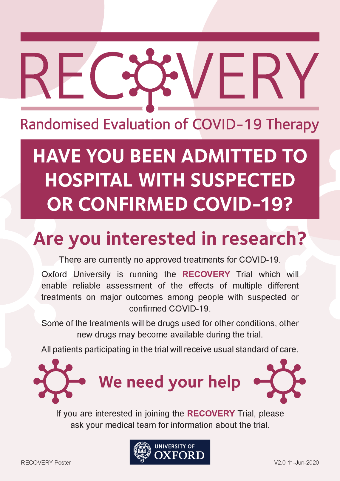 RECOVERY Trial Poster v2.0 11-Jun-2020 A4.png