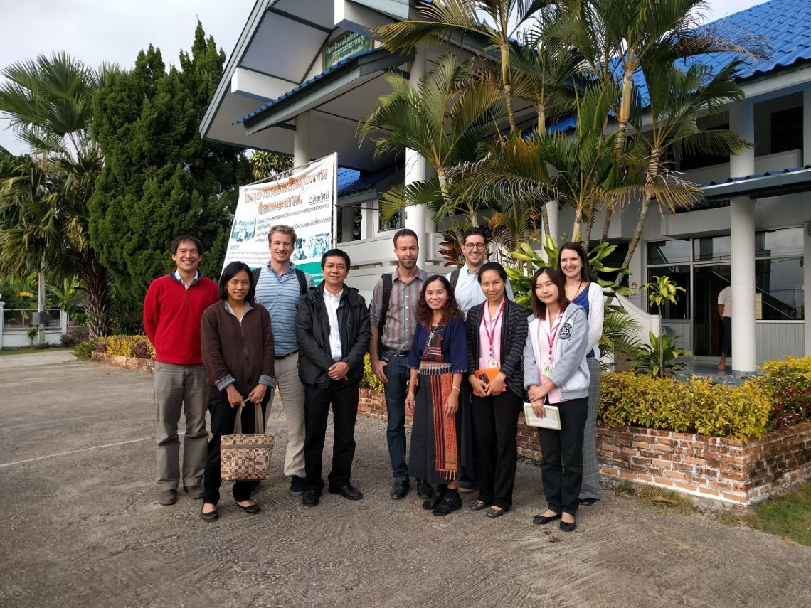 The study team for a randomised controlled trial on CRP guided treatment in febrile illness at a site-opening visit