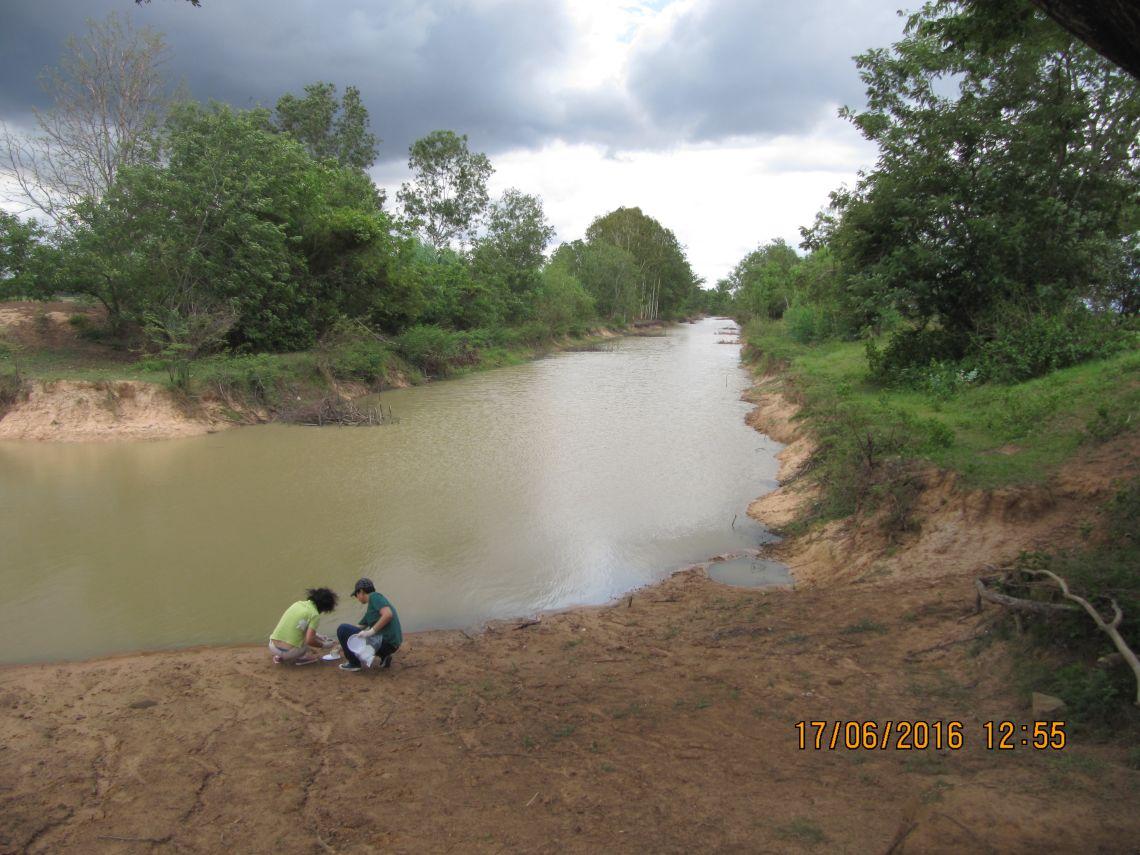 Field work in Northeast Thailand