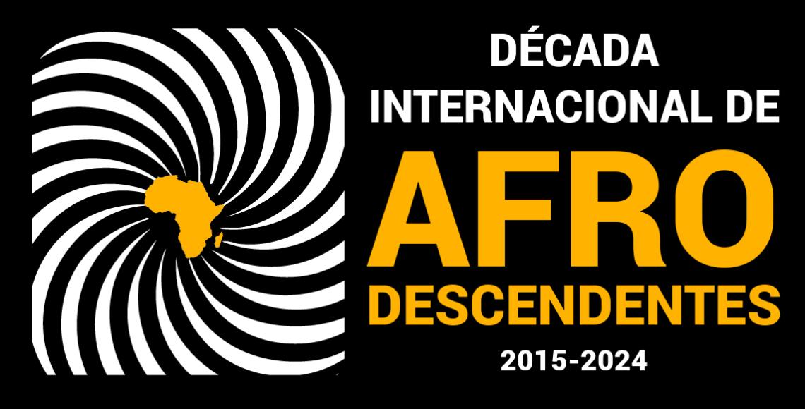Década Internacional de Afrodescendentes 2015 - 2024 (logo em português)