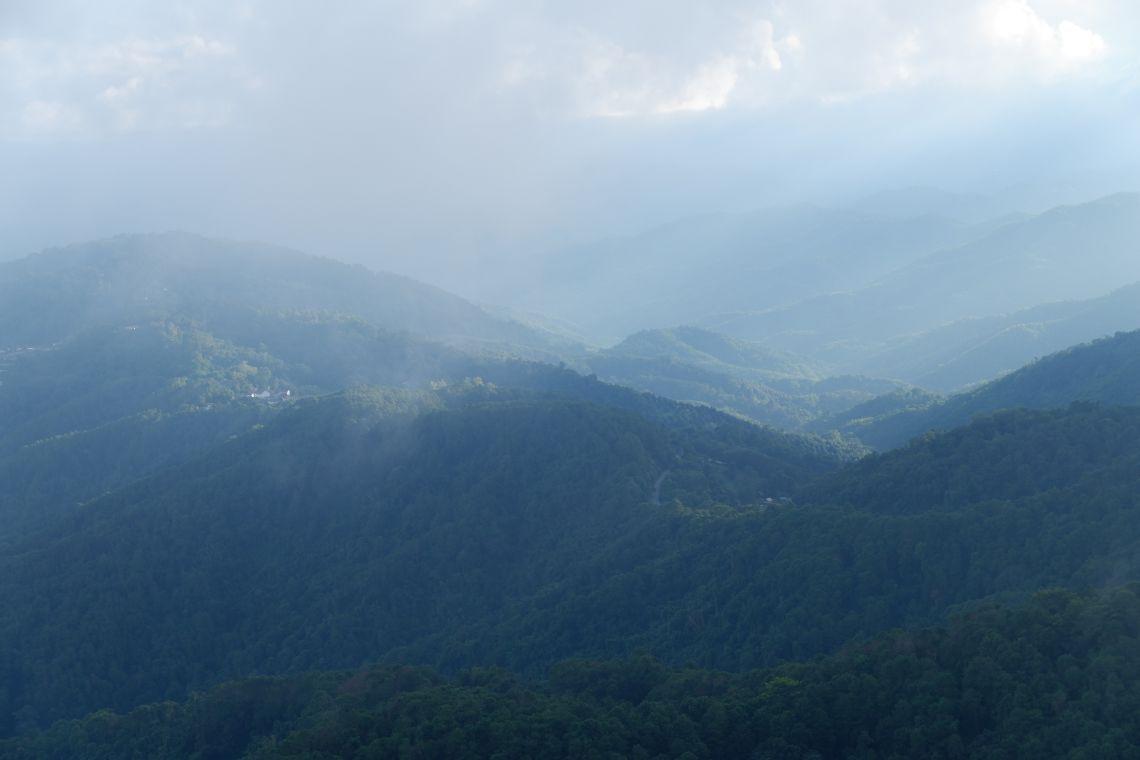 Survey villages in mountainous areas of Chiang Rai, Thailand