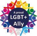 LGBT Plus Ally logo