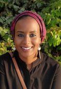 Olaa Mohamed-Ahmed smiling