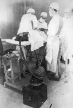 Brain surgery 1942