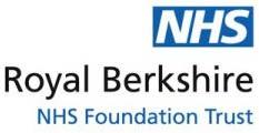 NHSRoyal BerkshireNHS Foundation Trust logo