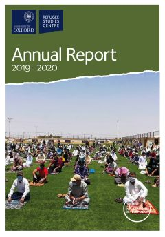 cover of the RSC Annual Report 2019-2020