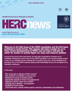 HERC Newsletter_Issue 33_November 2020