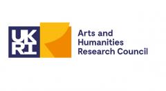 UKRI logo - Arts & Humanities Research Council