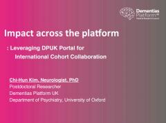 Impact across the platform: leveraging the platform for international cohort collaboration