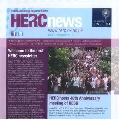 HERC Newsletter - 1st Issue