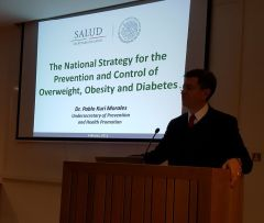 Dr. Kuri Morales presentation at NDM
