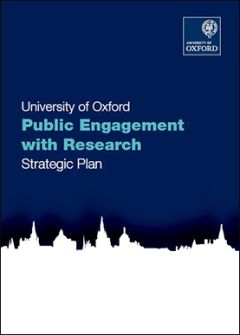 Cover of the Public Engagement with Research Strategic Plan