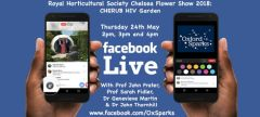 Facebook LIVE from the Chelsea Flower Show!