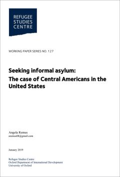 Seeking informal asylum: The case of Central Americans in the United States