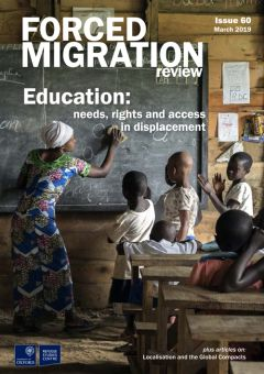 Education: needs, rights and access in displacement