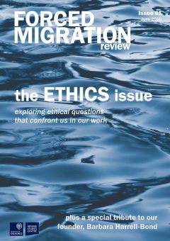 the ETHICS issue