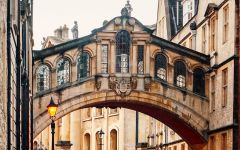 Image of the bridge of sighs Oxford