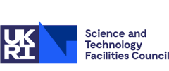 UKRI Science Technology and Facilities Council logo