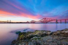 Photograph of the Forth Bridges, Edinburgh