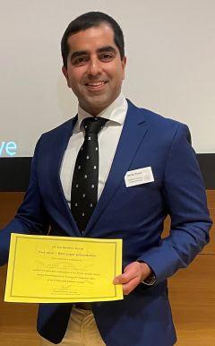 Imran Yusuf UK Eye Genetics Group Research Prize 2021