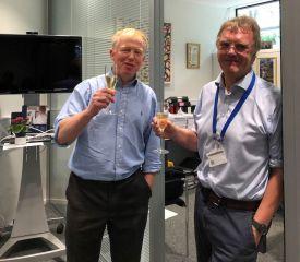 Professor Richard Cornall and Sir Peter Ratcliffe