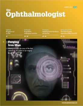 The Ophthalmologist October 2016 Front Cover