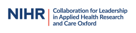 NIHR Collaboration for Leadership in Applied Health Research and Care Oxford logo