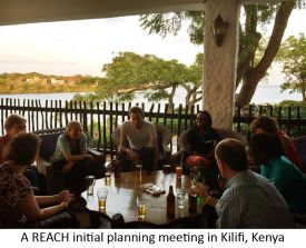 A REACH initial planning meeting in Kilifi, Kenya