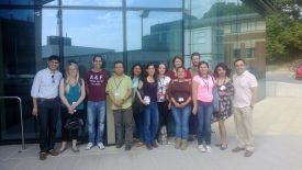 NDM Mexican training group at NDMRB, July 2015
