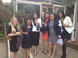 Mexican group at Cherwell boathouse