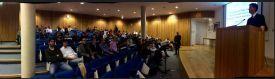 Audience at Dr. Kuri Morales' seminar