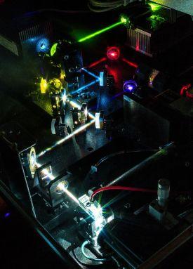 BD LSR Fortessa laser array. Image credit: Kevin Clark