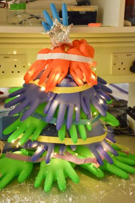 Beeson lab- glove tree
